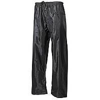 Дождевые брюки тёмно-зелёные (олива), полиэстер с ПВХ MFH