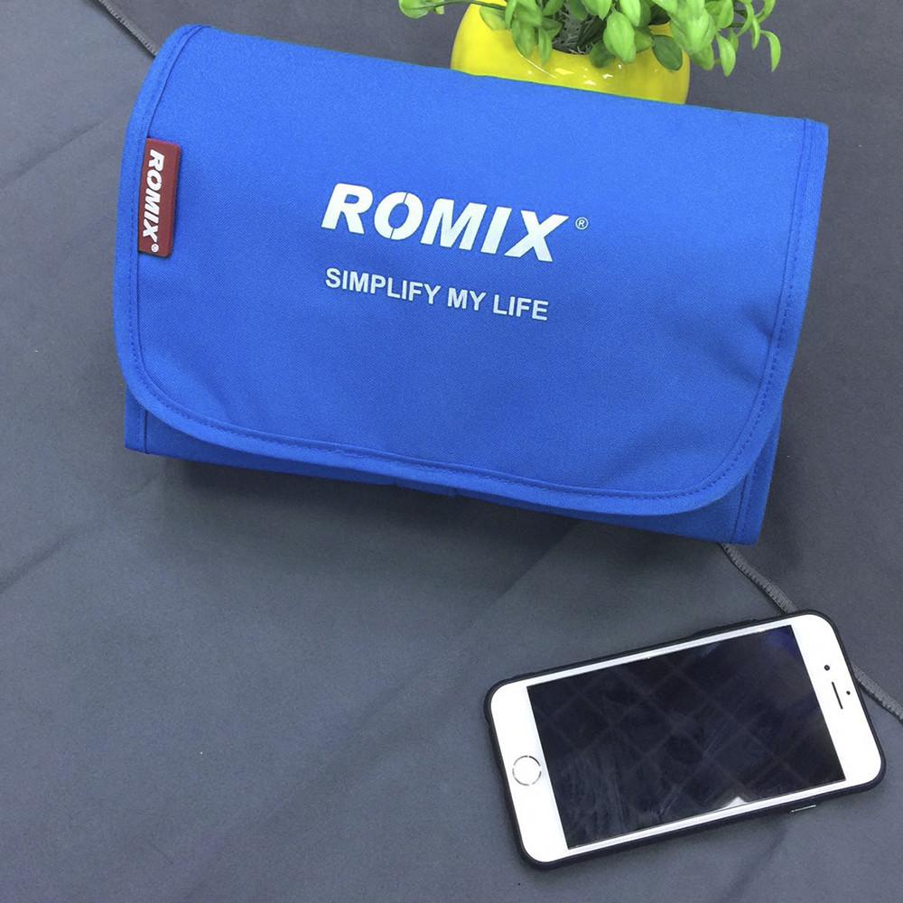 Косметичка для путешествий Romix тёмно-синяя