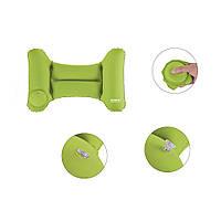 Надувная подушка для путешествий Romix зелёная