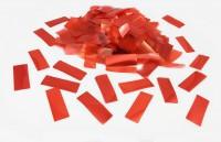 Конфетти метафан красный 1,5х4 см 50 г/упак. полипропилен
