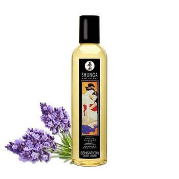 Массажное масло Shunga Sensation - Lavender 250 мл