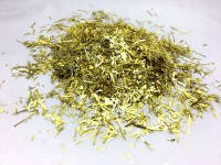 Конфетти мишура золото 50 г/упак. полипропилен металлизированный