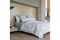 Постельное белье, евро  комплект, хлопковое постельное белье, ткань  Ранфорс, Пион