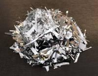 Конфетти мишура серебро см 50 г/упак. полипропилен металлизированный