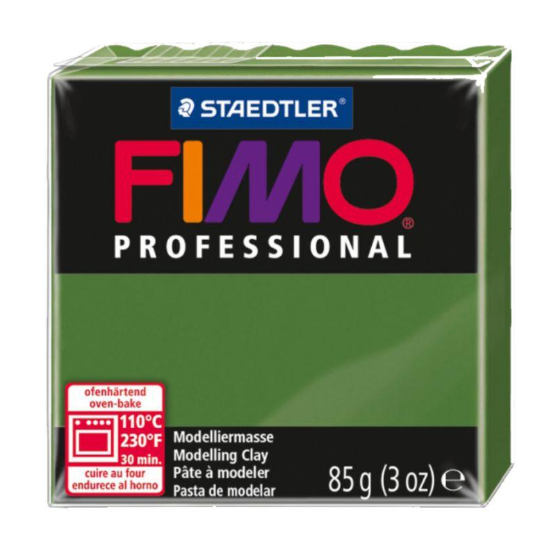 Пластика Professional, Зеленая травяная, 85 г, Fimo