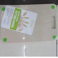 Доска разделочная из пшеничной шелухи Эко 20*30см R29055