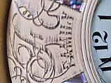 Часы настенные большие, кремового цвета с зеркальными вставками, фото 7