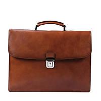 Кожаный деловой портфель для мужчин, фото 1
