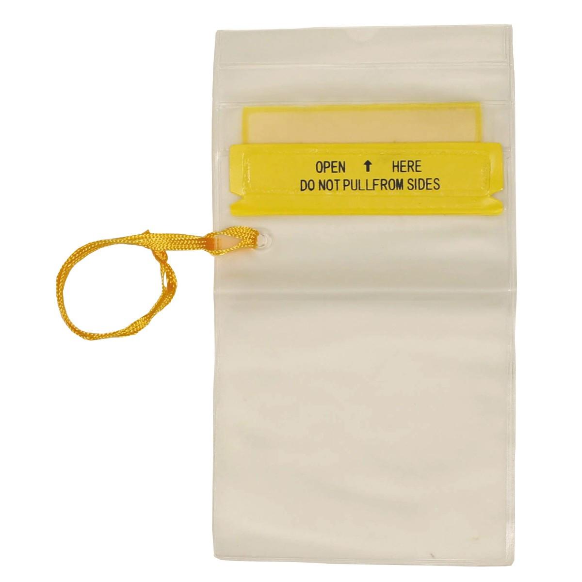 Водозащитная прозрачная гермоупаковка для документов 12.7х18.4см Fox Outdoor