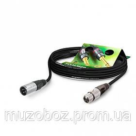 Sommer Club MK2 кабель XLR MV - XLR FV (5m), цвет красный