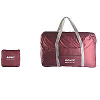 Складная дорожная сумка Romix красная (red wine), фото 1
