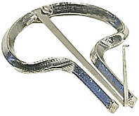 Gewa Original Schwarz №6 варган, металлический, никелированный