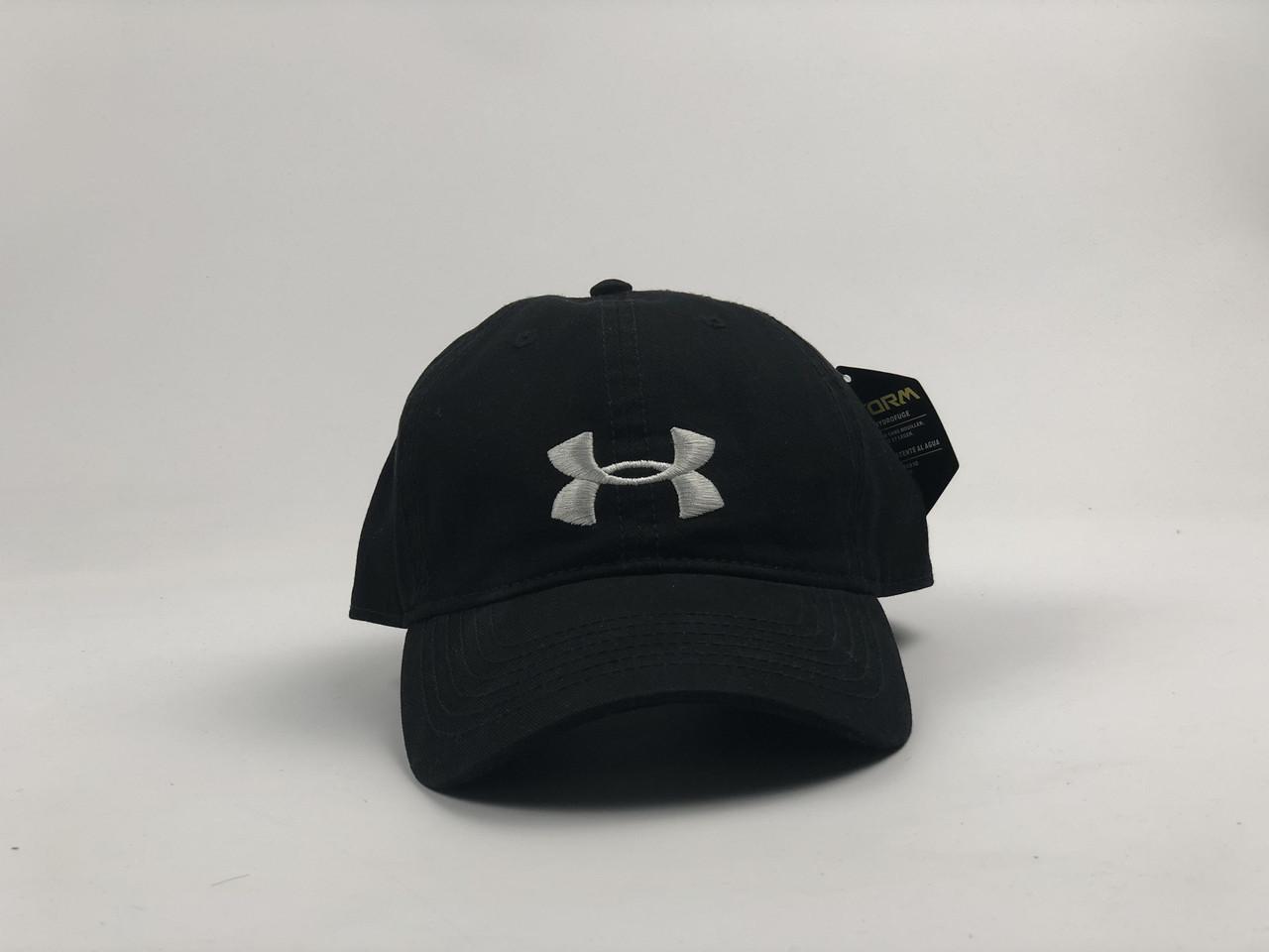 Кепка бейсболка Under Armour (черная)