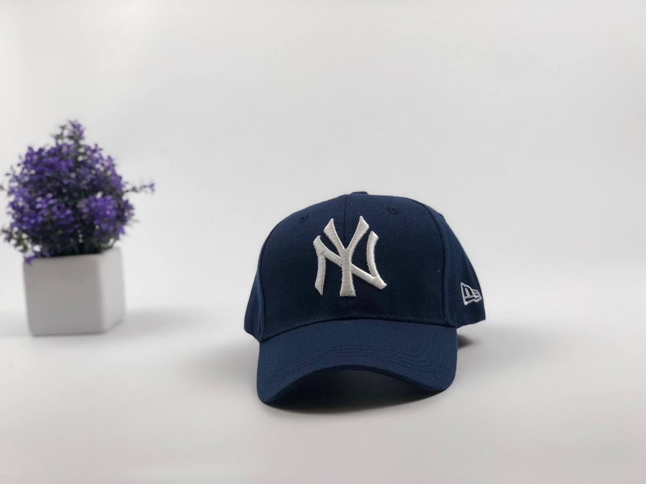 Кепка бейсболка New York Yankees (темно-синяя)