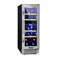 Шкаф холодильный для вина Klarstein 10032030 винный холодильник 53л #S/O