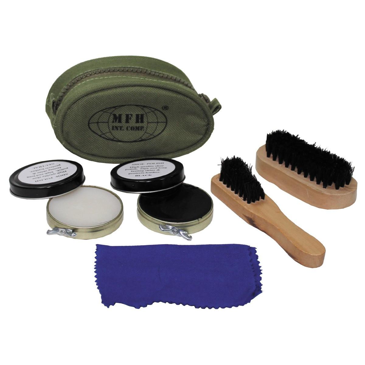Компактный набор для ухода за обувью MFH