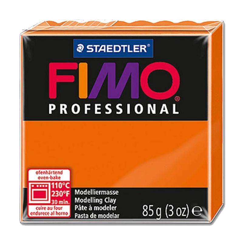 Пластика Professional, Оранжевая, 85 г, Fimo