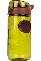Бутылка пластиковая для воды SMILE SBP-2 green
