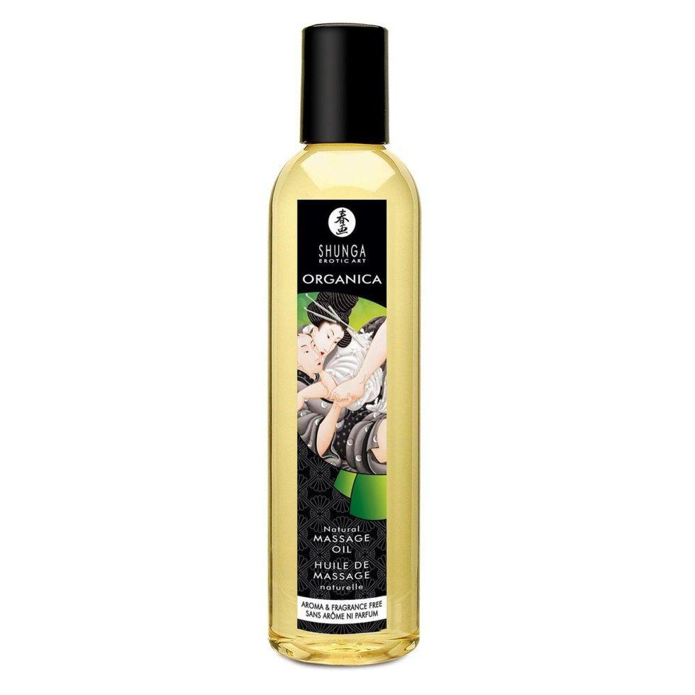 Органическое массажное масло Shunga ORGANICA - Natural 250 мл