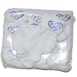 """Детские Носочки на махре  до года """"белые""""( мин. заказ 1 упаковка)"""