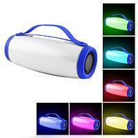 Bluetooth-колонка E26 LIGHT SHOW 3D BASS SOUND, c функцією Light Show, speakerphone, Power Bank, радіо