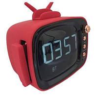 Bluetooth-колонка E29 TV GOOD SOUND, c функцией часы, speakerphone, радио, подставка для телефона