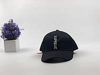 Кепка бейсболка Supreme Вертикаль (черная), фото 1