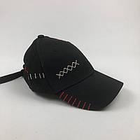Кепка бейсболка Нашивки (черная), фото 1