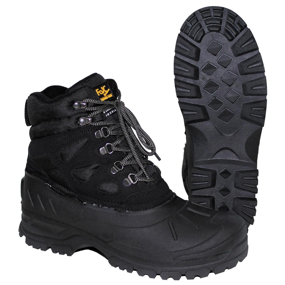 "Трекинговые ботинки чёрные Fox Outdoor ""Fox-Thermo"""
