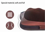 Массажная подушка Massage pillow Массажер для спины, шеи, ног, фото 4