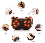 Массажная подушка Massage pillow Массажер для спины, шеи, ног, фото 6