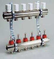 """""""Luxor"""" Коллекторная группа с расходомерами и термо клапанами М30х1,5 KG,R,T6"""