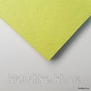Фетр листовой, полиэстер, 20×30 см, Цвет: Желтый