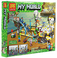 """Конструктор Lele 33222 """"Аттракцион Пиратские горки 3 в 1"""" (аналог Lego Creator 31084), 956 деталей"""