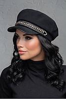 Женский картуз, кепи, фуражка с козырьком хит сезона 2020,модель Ирис, фото 1