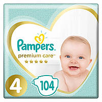 Подгузник Pampers Premium Care Maxi Размер 4 (9-14 кг) 104 шт (4015400465447_1)