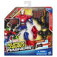 Разборная фигурка супергероя Железный патриот (Iron Patriot, Super Hero Mashers, Hasbro (138270)