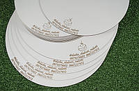 Подложка/подставка кондитерская под торт, диаметр 25см