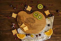 Доска ореховая «Камушек» M