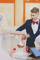 Свадебное оформление в красном цвете (Наши работы)