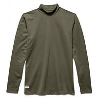 Кофта Under Armour ColdGear Infrared Tactical Fitted Mock Olive S Оливковый 1244393OD, КОД: 690906