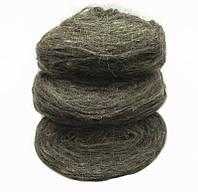 Пряжа для вязания ровница, цвет серый ПВ6