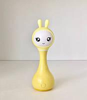 Інтерактивна іграшка плеєр зайчик SMARTY ALILO R1 Smarty Зайчик Жовтий