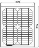 Солнечная батарея SUNRISE SR-M5093610 MONO (10W)