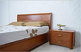 Кровать Милена с буковой подъемной рамой с ламелями, фото 3