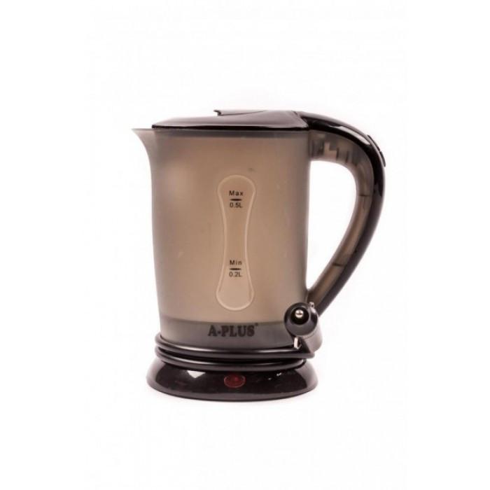 Чайник електричний автомобільний від прикурювача А-Плюс ЄК 1518 Чорний