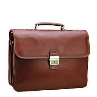 Большой кожаный портфель для мужчины