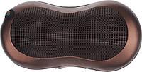 Массажная подушка для дома и машины Massage Pillow с подогревом (A58) Brown #S/O 1046259002