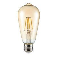 Светодиодная лампа Kanlux ST64 FIL LED 4W E27-WW (26040)