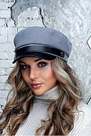 Женский картуз, кепи, фуражка с козырьком хит сезона 2020,модель Марсель, фото 1
